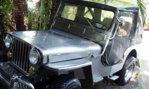 Peter Greenberg's Stainless Steel Jeep
